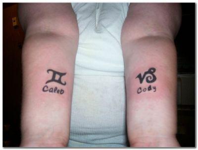 Capricorn Symbol Tattoo Pics