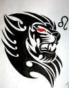 zodiac leo tattoos