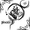 free tattoo of pisces