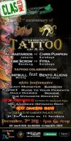 National Tattoo War 2nd anniversary of Crazy Tatto