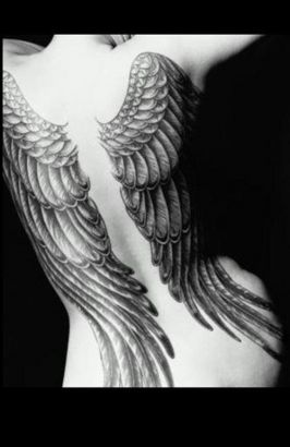 Angel Wings Pic Tattoo Image