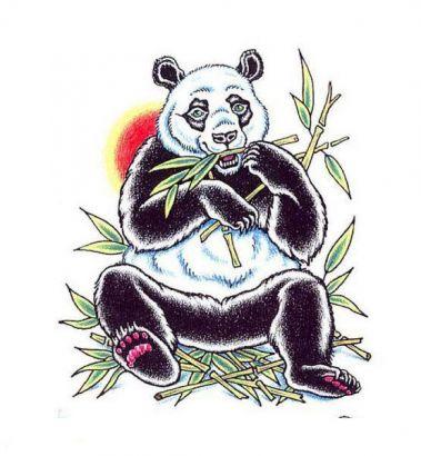 Panda Bear Free Tattoo Tattoo From Itattooz
