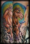 horse tattoo image