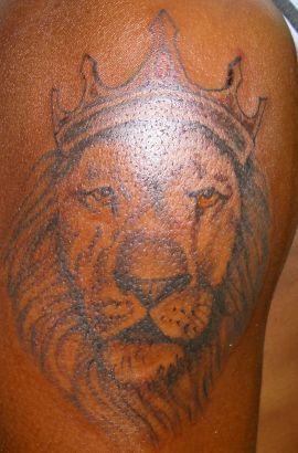 King Lion Tattoo Tattoo From Itattooz
