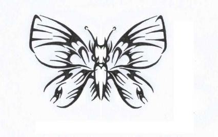 d77ab8d27 Gothic Butterfly Tattoo Image || Tattoo from Itattooz