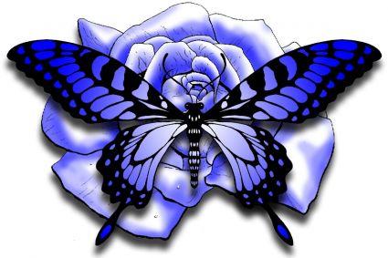 3d Butterfly Tattoo Design Tattoo From Itattooz