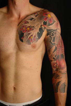 Japanese Tats On Chest Tattoo From Itattooz