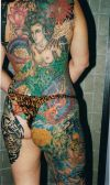 women full body tattoos