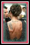angelina jolie neck and left shoulder blade tattoo