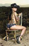 brittanya o campo right leg tattoo