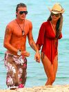 david beckham and victoria beckham at beach