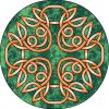 celtic tats  design in circle