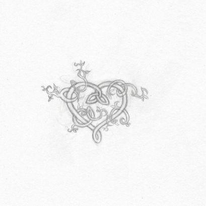 Celtic Heart Vine Tattoo Tattoo From Itattooz