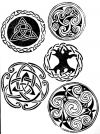 Celtic Knot Design Tree of Life