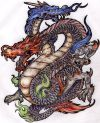 asian dragon pic tattoo design