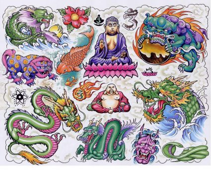 Chinese Tattoo Design Gallery