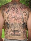 egyptian culture full back tats