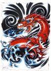 dragon tats design