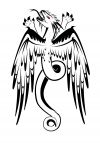 eagle wing dragon pic tattoo