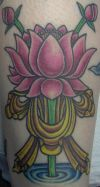 lotus arm tats design