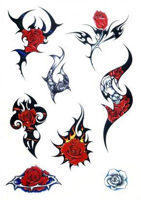 Tribal Tattoo Design Of Roses Tattoo From Itattooz