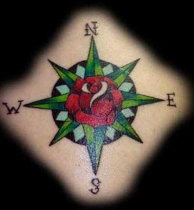 Compass Rose Tattoo Tattoo From Itattooz