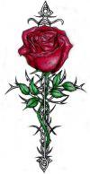 rose tat designs