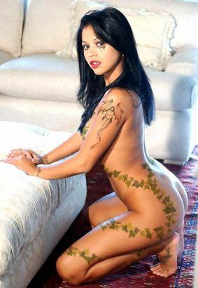 girl with tattoo art tattoo from itattooz