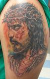 jesus tattoo images on arm