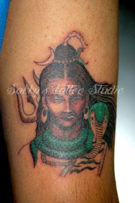 Two Faced Shiva Tattoo From Itattooz