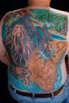 pirates tattoo print