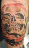 pirates scull tattoo