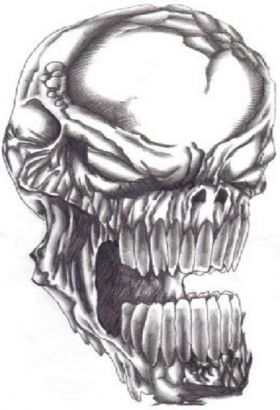 Demon Skull Tattoo Tattoo From Itattooz