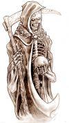 grim reaper free tattoos pic