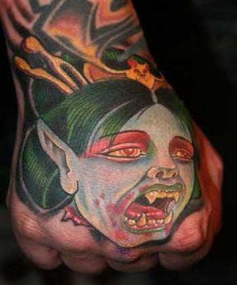 Scary tattoos, Vampire tattoos, Tattoos of Scary, Tattoos of Vampire, Scary tats, Vampire tats, Scary free tattoo designs, Vampire free tattoo designs, Scary tattoos picture, Vampire tattoos picture, Scary pictures tattoos, Vampire pictures tattoos, Scary free tattoos, Vampire free tattoos, Scary tattoo, Vampire tattoo, Scary tattoos idea, Vampire tattoos idea, Scary tattoo ideas, Vampire tattoo ideas, vampire geisha tattoo on hand
