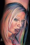 jenna jameson vampire tattoo