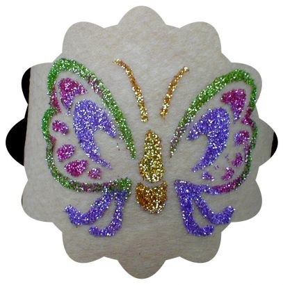 Glitter Butterfly Pic Tattoo