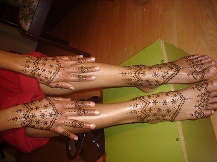Henna Body Art Tattoo Tattoo From Itattooz