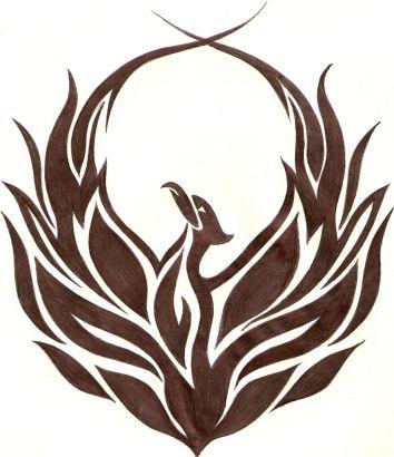 Tribal Phoenix Tattoo Tattoo From Itattooz