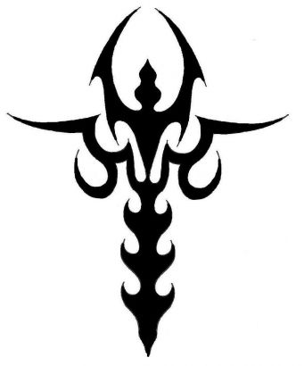 tribal sword symbol tattoos tattoo from itattooz