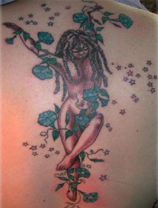 ea1a07204 Virgo Lady Tattoo On Back || Tattoo from Itattooz
